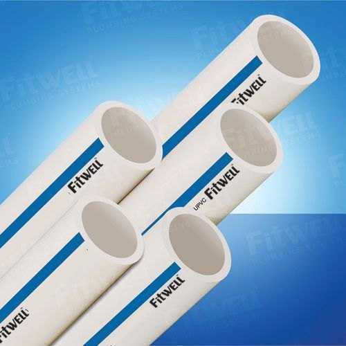 White Upvc Pipes