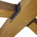 Wooden shuttering for concrete constructional work