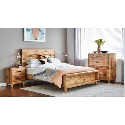 Wood Bedrooms