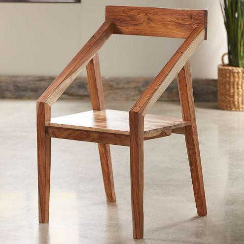 Wood Dining Table With Chair