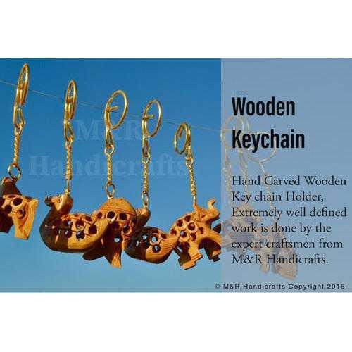 Wood Keychains