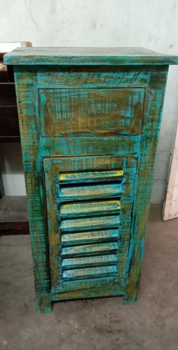 Wooden Cabinet With Drawer