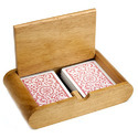 Wooden Card Boxes