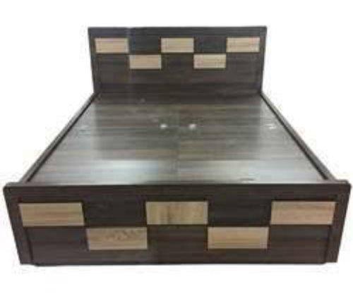 Wooden Fancy Double Bed