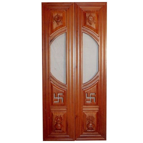 Wooden Paneled Doors