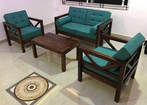 Wooden Sofas Set