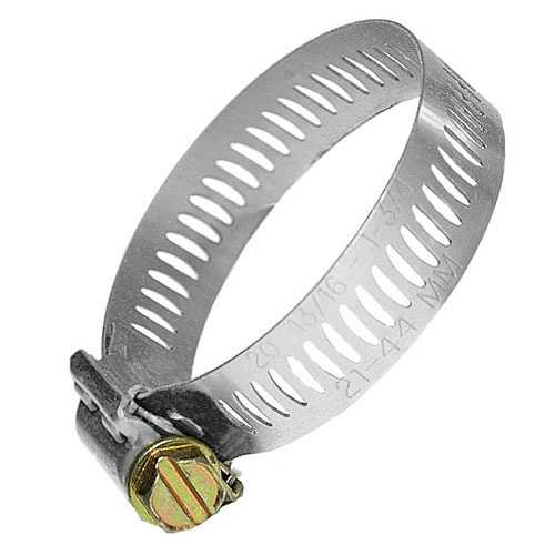 Worm Hose Clamp