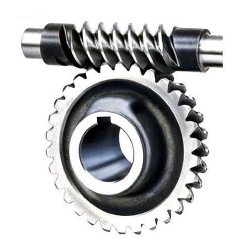 Worm Shaft With Gear