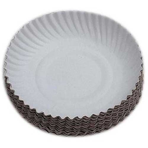 Wrinkled Paper Plate