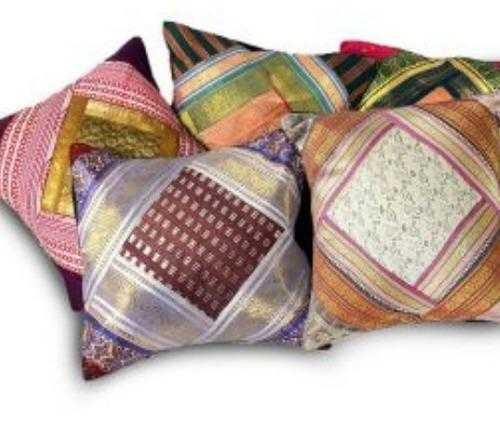 Zari Cushion Cover